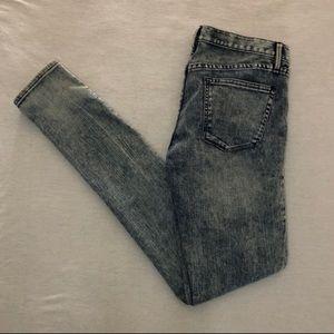 Madewell 37s Acid Wash Skinny Jeans